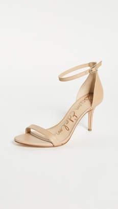 481f53a96a59 Sam Edelman Beige Synthetic Sole Women s Sandals - ShopStyle