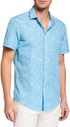 Report Collection Men's Button-Up Sport Shirt