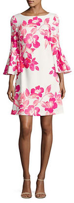 Eliza J Floral Shift Dress $128 thestylecure.com