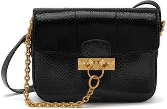 Mulberry Keeley Satchel Black Ayers
