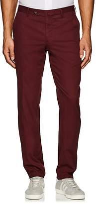 Incotex Men's S-Body Slim Cotton-Blend Trousers