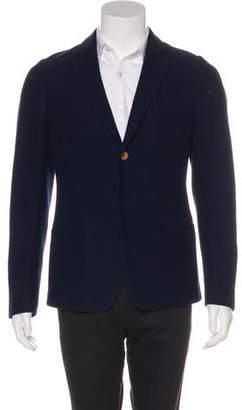 Gucci Woven Two- Button Blazer