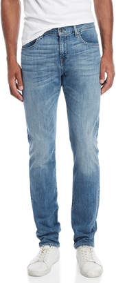 7 For All Mankind The Straight Light Wash Jeans