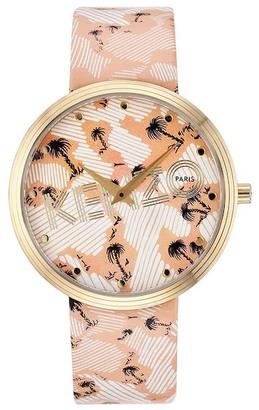 KENZO Women's It-Print Quartz Watch $239 thestylecure.com