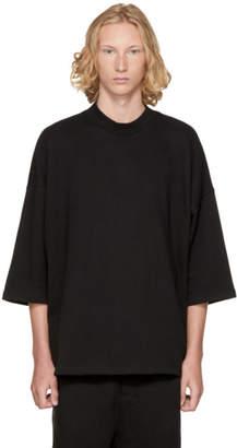 D by D SSENSE Exclusive Black Oversized T-Shirt