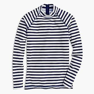 J.Crew Long-sleeve rash guard in classic stripe