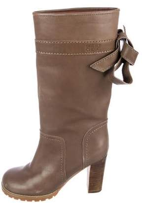 See by Chloe Leather Mid-Calf Boots