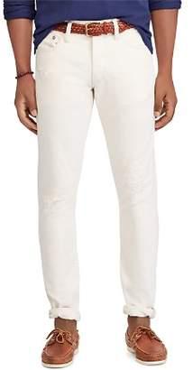 Polo Ralph Lauren Sullivan Slim Fit Jeans in White