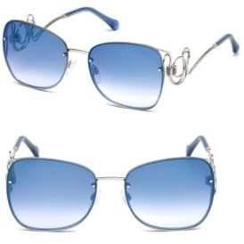 Cavalli 58MM Square Sunglasses