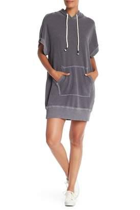 Splendid Short Sleeve Hoodie Dress