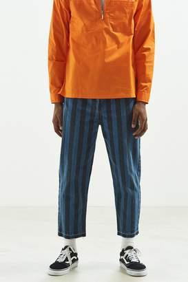 BDG Stripe Straight Cropped Jean