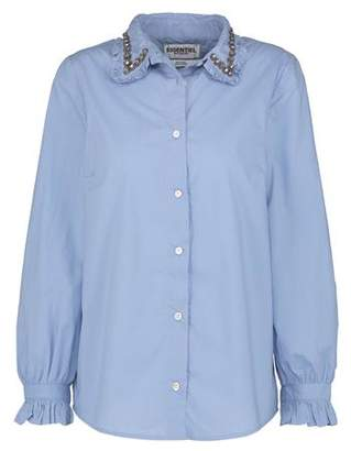 Essentiel Odaikota Embellished Collar Shirt in Hydrangea