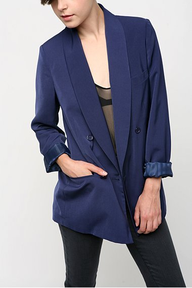 Silence & Noise Double Breasted Blazer