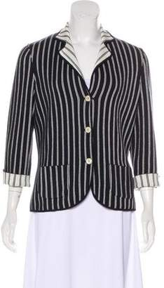 Loro Piana Striped Knit Jacket