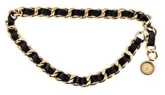 Chanel Medallion Chain-Link Belt