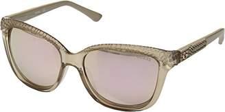 GUESS Women's Acetate Square/Soft Cat-Eye Sunglasses