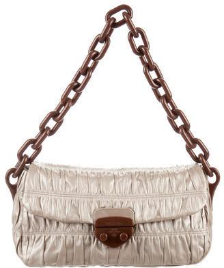 pradaPrada Nappa Gaufre Shoulder Bag