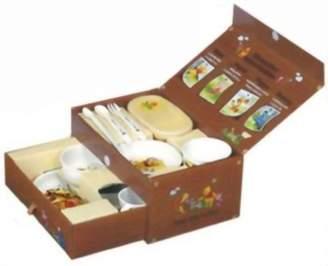 Combi Winnie the Pooh Baby Food Dish set Feeding dish box set (japan import)