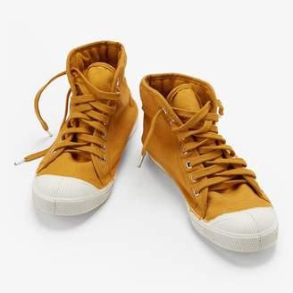 Bensimon Mid Tennis Shoe Yellow