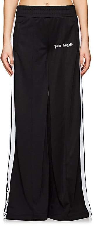 Women's Tech-Jersey Wide-Leg Track Pants