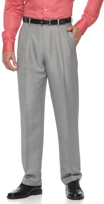 Croft & Barrow Men's Classic-Fit Pleated Essential Dress Pants