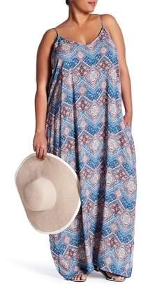 Stony Sleeveless Printed Maxi Dress (Plus Size) $52 thestylecure.com