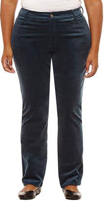 ST. JOHN'S BAY Straight Leg Corduroy Pant - Plus