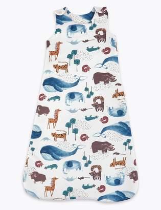 Marks and Spencer Cotton Animal Print Sleeping Bag