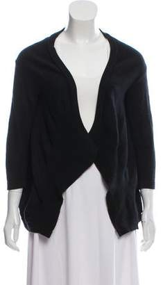Zero Maria Cornejo Open Front Knit Cardigan