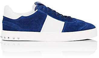 Valentino Men's Flycrew Suede Sneakers