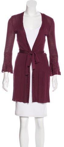 MissoniM Missoni Wool-Blend Knit Cardigan