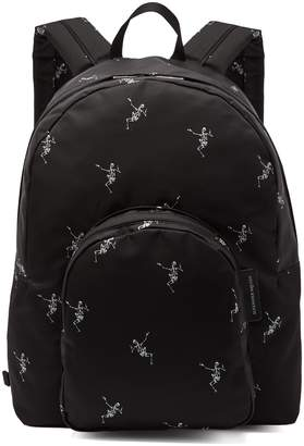 Alexander McQueen Dancing Skeleton-print backpack