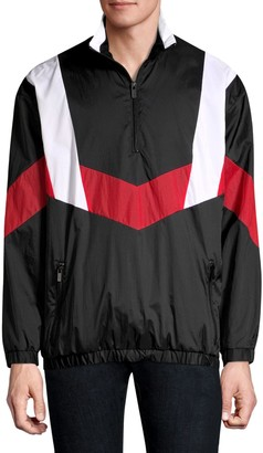 HUGO Relaxed-Fit Droyes Nylon Pullover Jacket