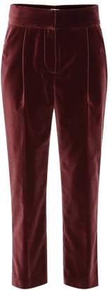 Brunello Cucinelli Velvet cotton pants
