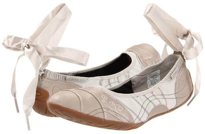 Merrell Barefoot Serene Glove (Aluminum) - Footwear