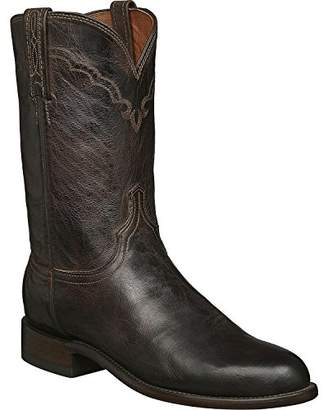 Lucchese Bootmaker Men's Shane Madras Goat Roper Riding Boot
