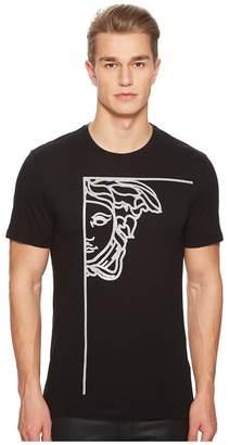 Versace Glitter Medusa Print T-Shirt