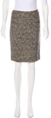 RED Valentino Wool-Blend Skirt