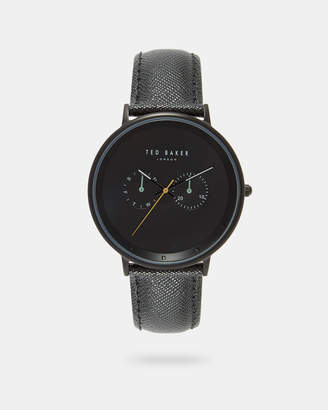 Ted Baker BRADB Textured strap watch