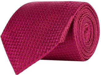 Turnbull & Asser Floating Squares Silk Tie