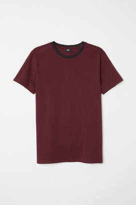 H&M Muscle Fit T-shirt - Red