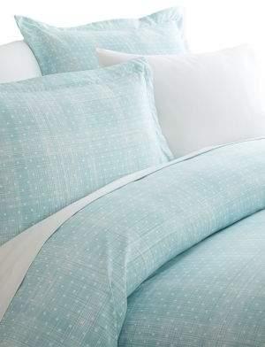 Blissful Bedding Premium Ultra Soft Three-Piece Polka Dot Pattern Duvet Cover Set