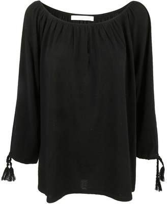Saverio Palatella Boat Neck Blouse