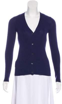 Prada Cashmere Button-Up Cardigan