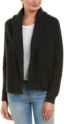 Splendid Shawl Collar Wool-Blend Cardigan