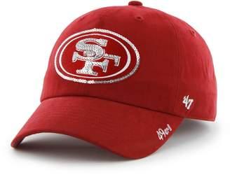 '47 Women's San Francisco 49ers Sparkle Adjustable Cap