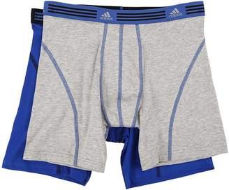 adidas Athletic Stretch 2-Pack Boxer Brief Men's Underwear