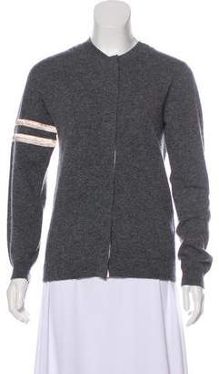 Sacai Wool and Cashmere Cardigan