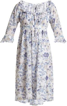 Thierry Colson Chintz Antoinette-printed cotton dress