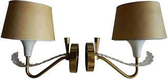 One Kings Lane Vintage 1950s French Sconces,Pair